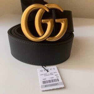 łNew Gucci Belt Åüthéntíć Double G Marmot